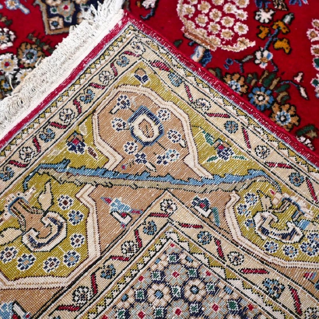 Silk Semi Antique Qum Rug 7.2x4.6 - 2