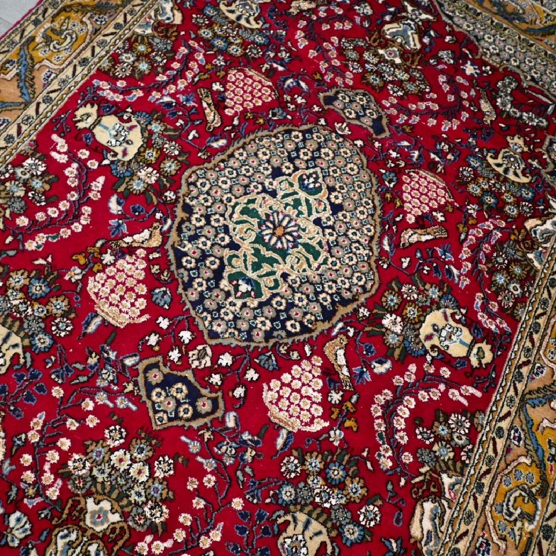 Silk Semi Antique Qum Rug 7.2x4.6 - 3