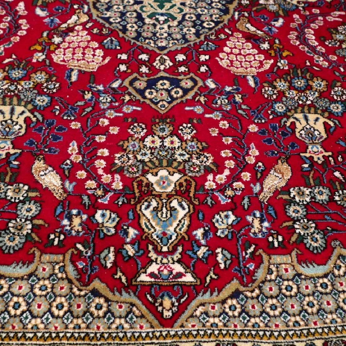 Silk Semi Antique Qum Rug 7.2x4.6 - 5