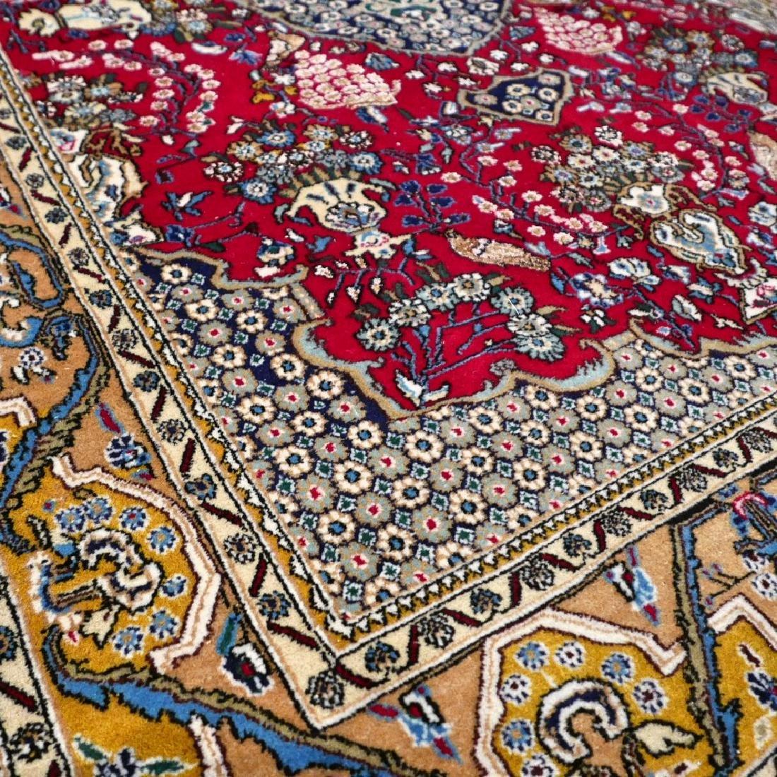 Silk Semi Antique Qum Rug 7.2x4.6 - 6