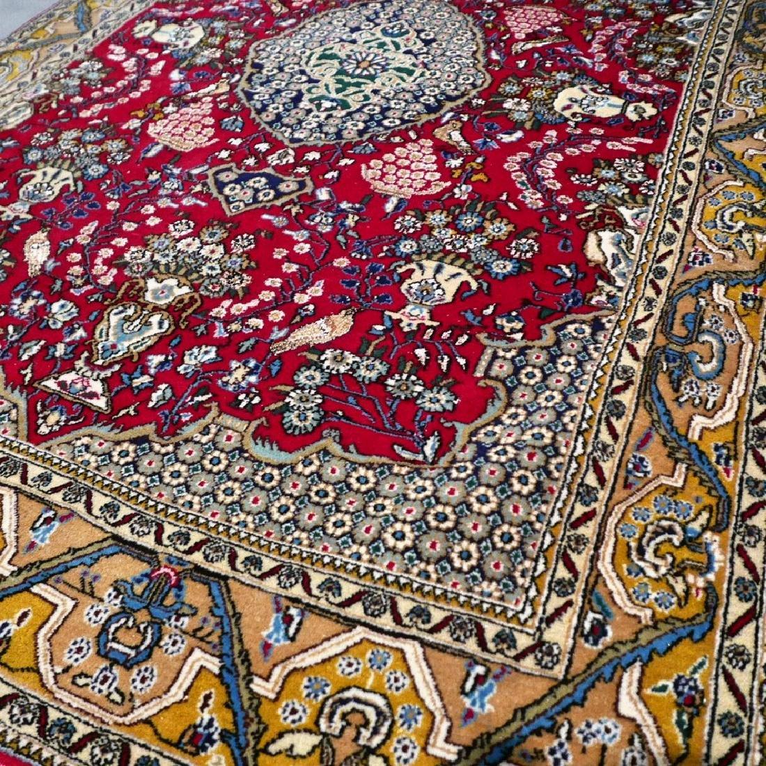 Silk Semi Antique Qum Rug 7.2x4.6 - 8
