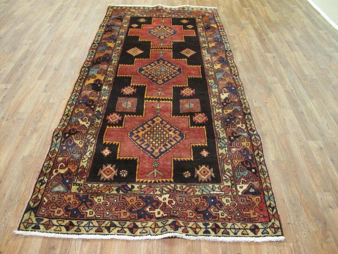 Vintage Persian Hamadan Rug 3.10x8.2