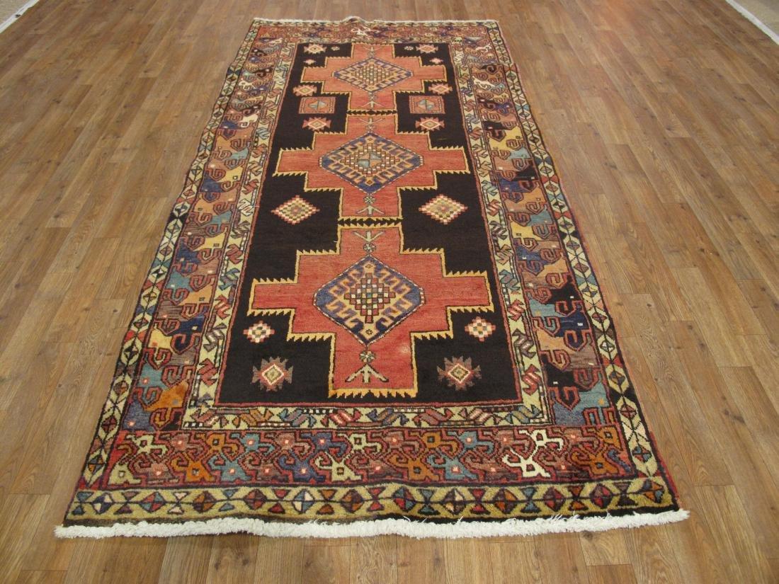 Vintage Persian Hamadan Rug 3.10x8.2 - 2