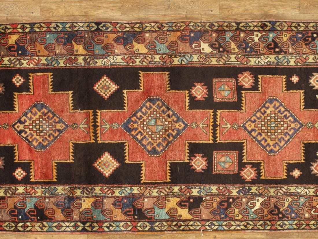 Vintage Persian Hamadan Rug 3.10x8.2 - 4