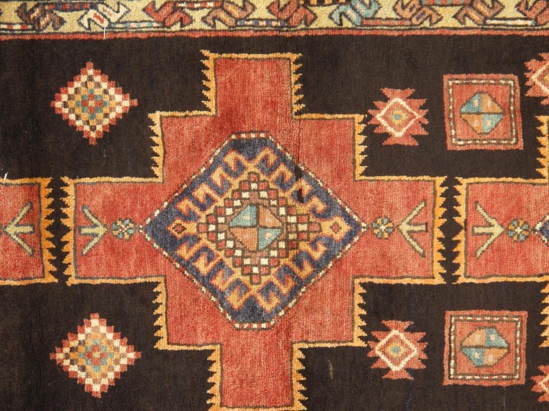 Vintage Persian Hamadan Rug 3.10x8.2 - 5