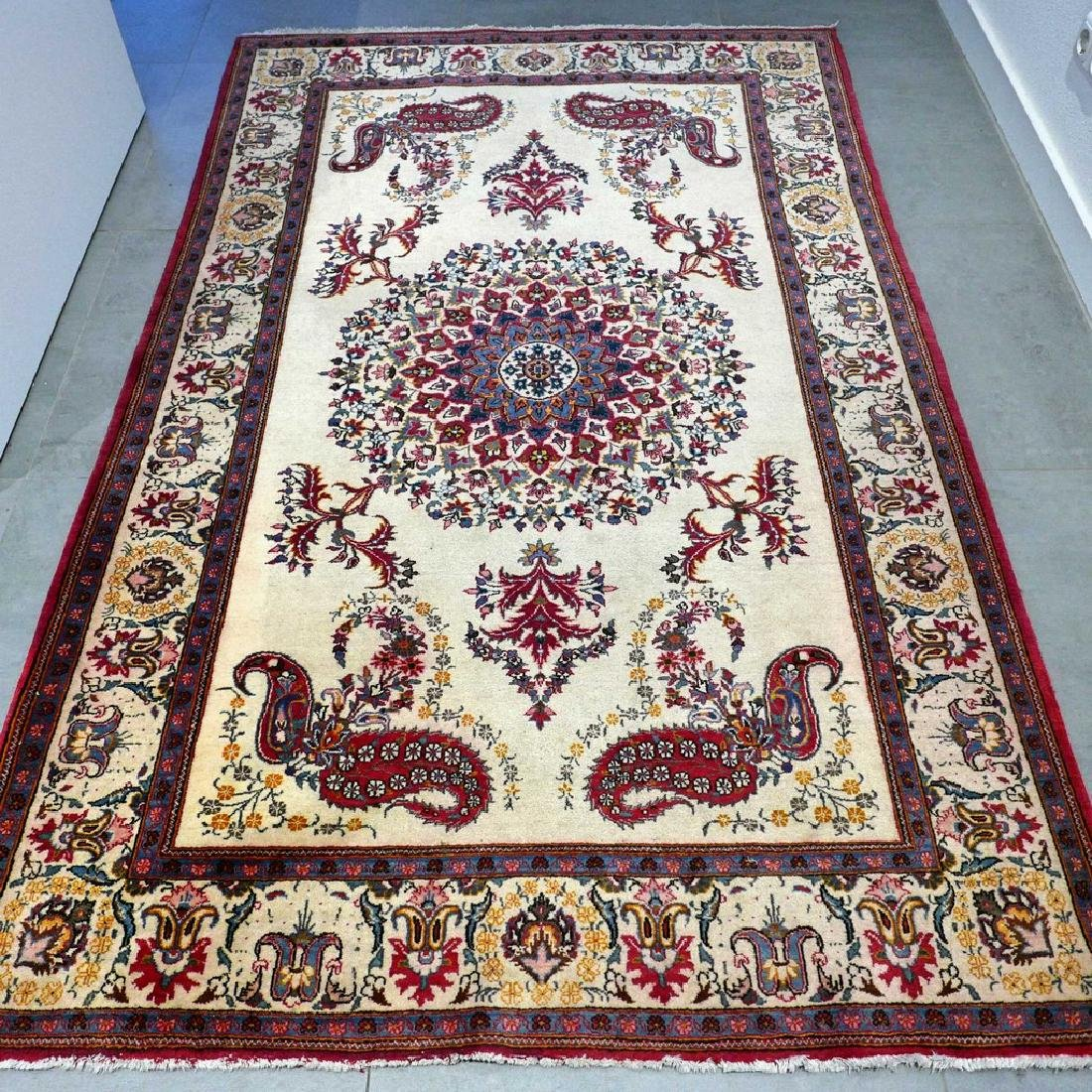 Keshan With Special Design Rug 7x4.4