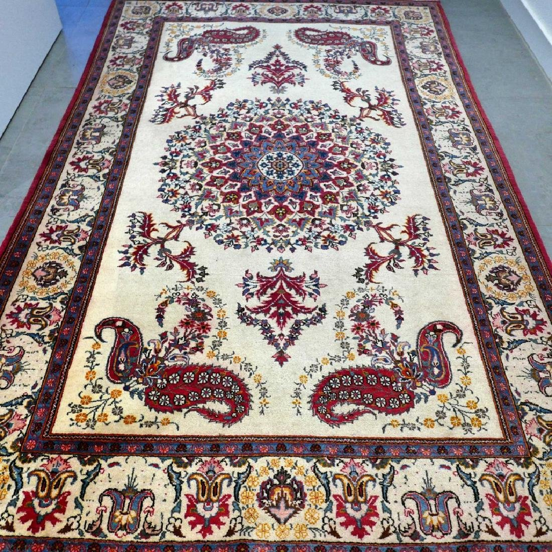 Keshan With Special Design Rug 7x4.4 - 7