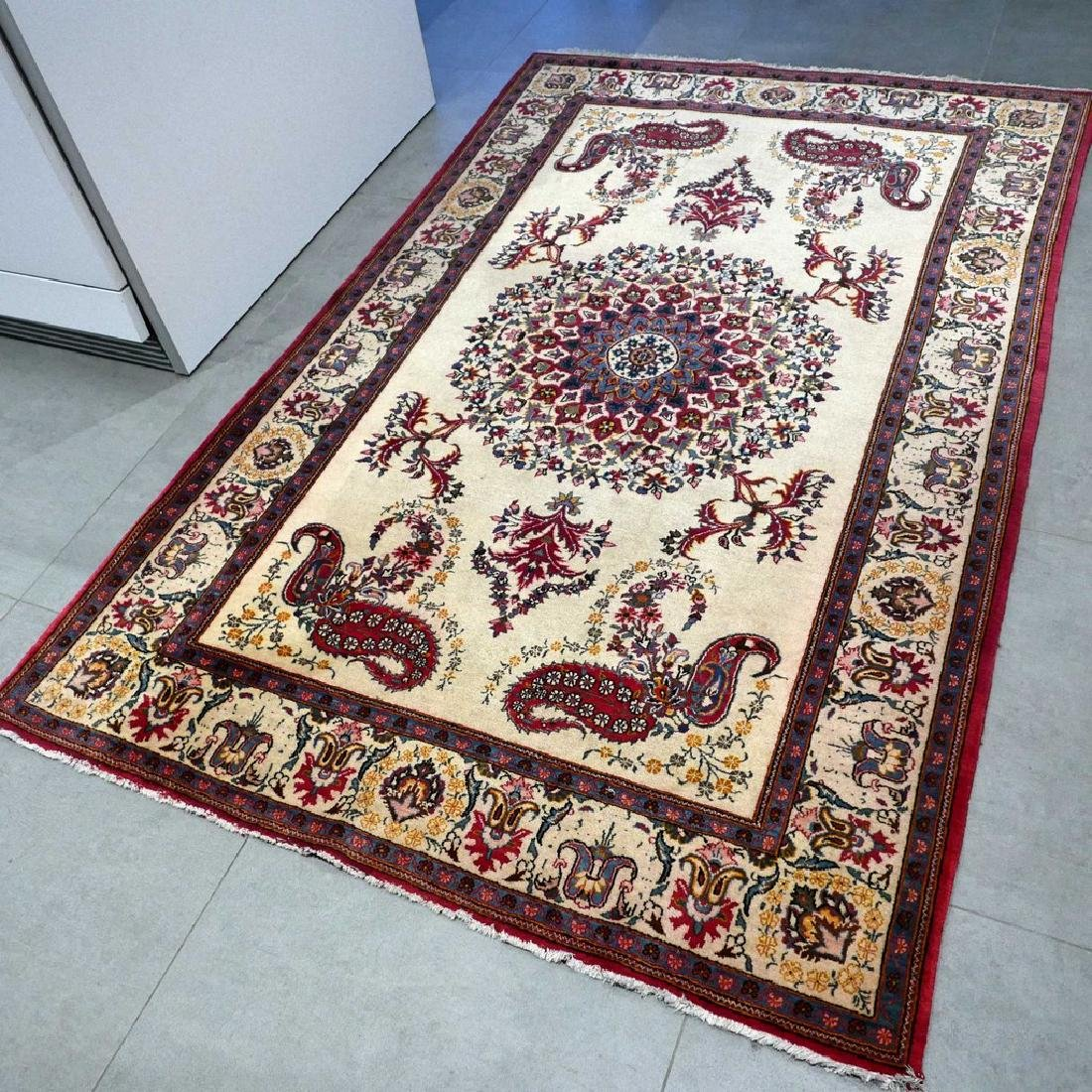 Keshan With Special Design Rug 7x4.4 - 8