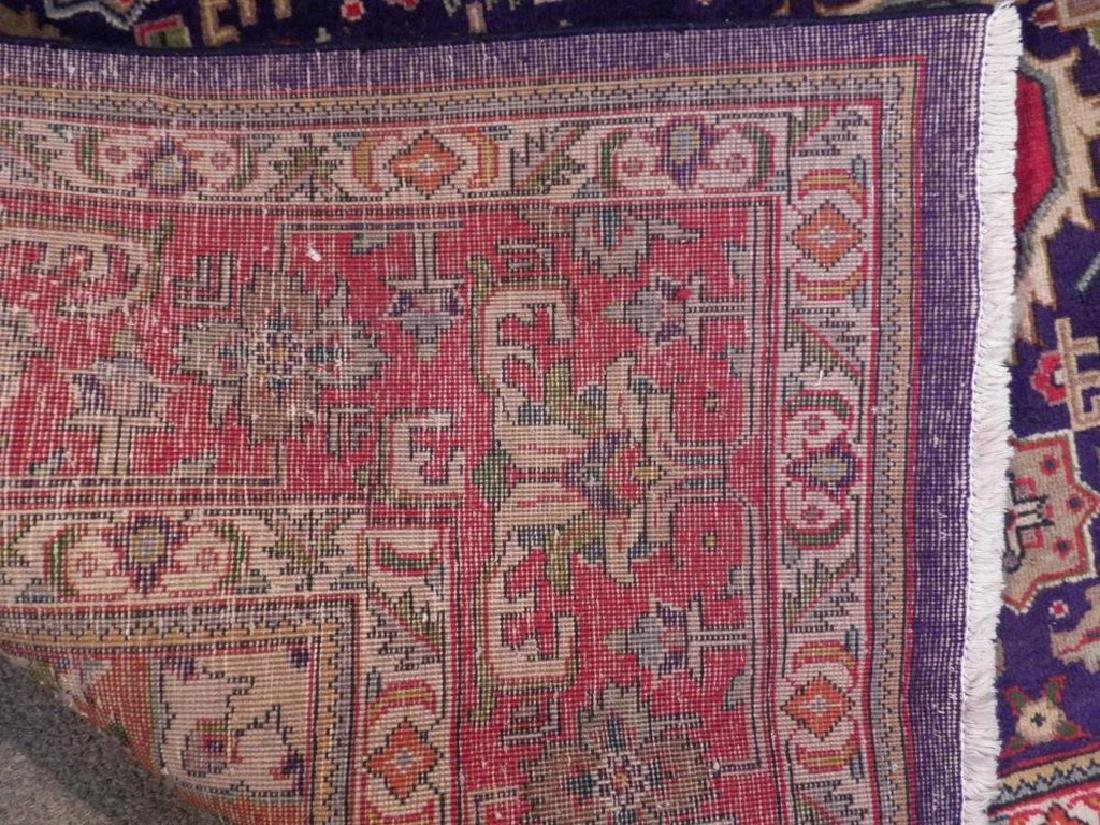 Semi Antique Persian Tabriz Rug 6.7x9.7 - 2