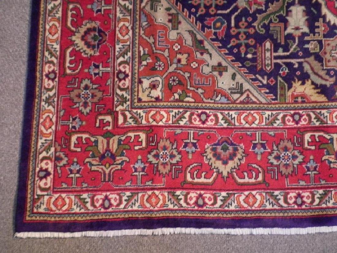 Semi Antique Persian Tabriz Rug 6.7x9.7 - 3