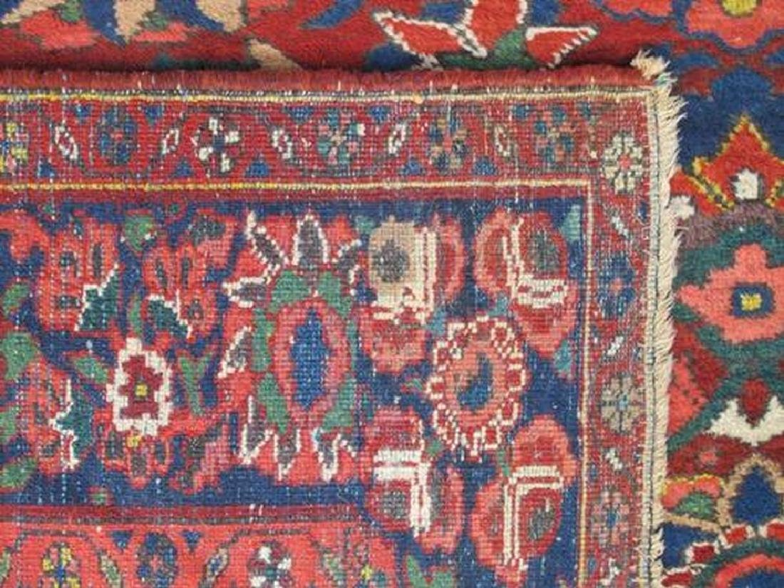 Soft Wool Pile Semi Antique Persian Bokhara Rug 7x10.11 - 3