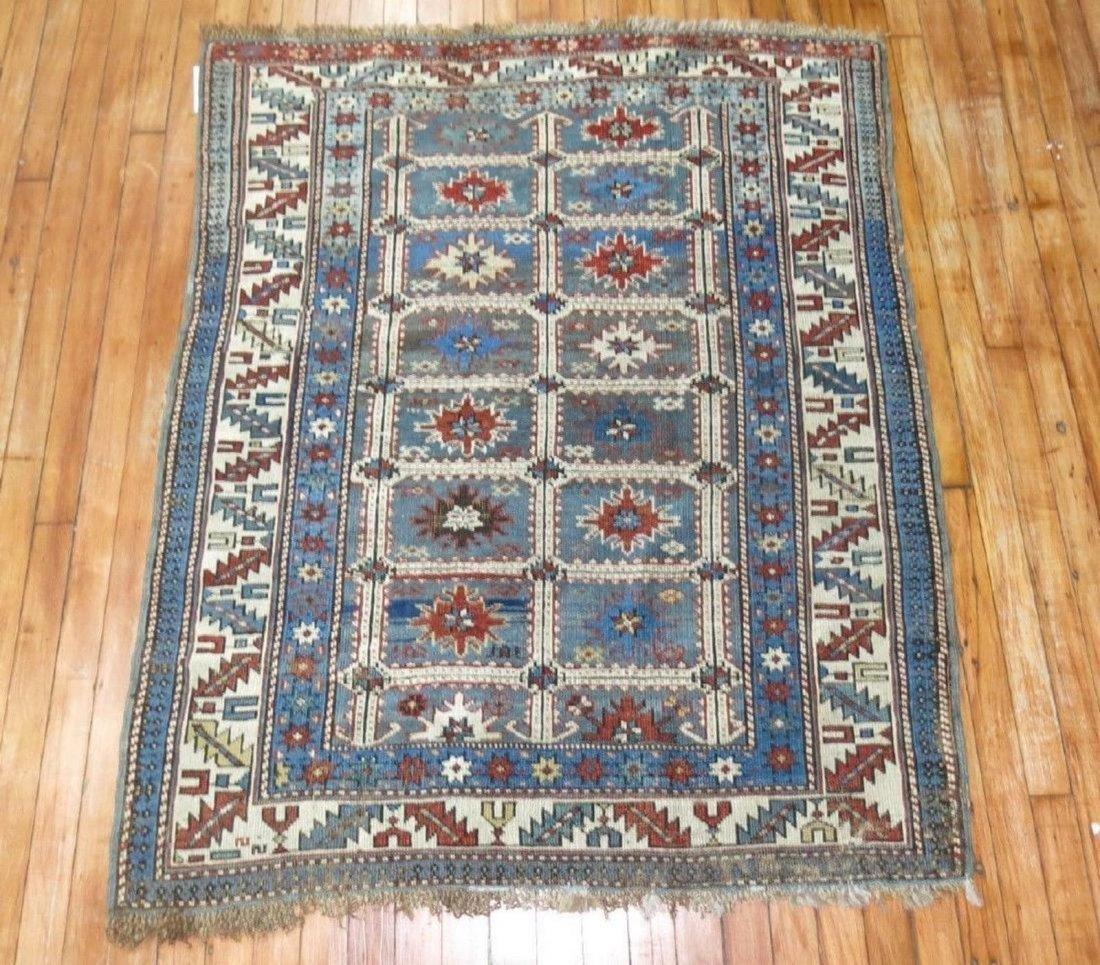 Antique Caucasian Shirvan Karagashli Rug 3.8x4.7