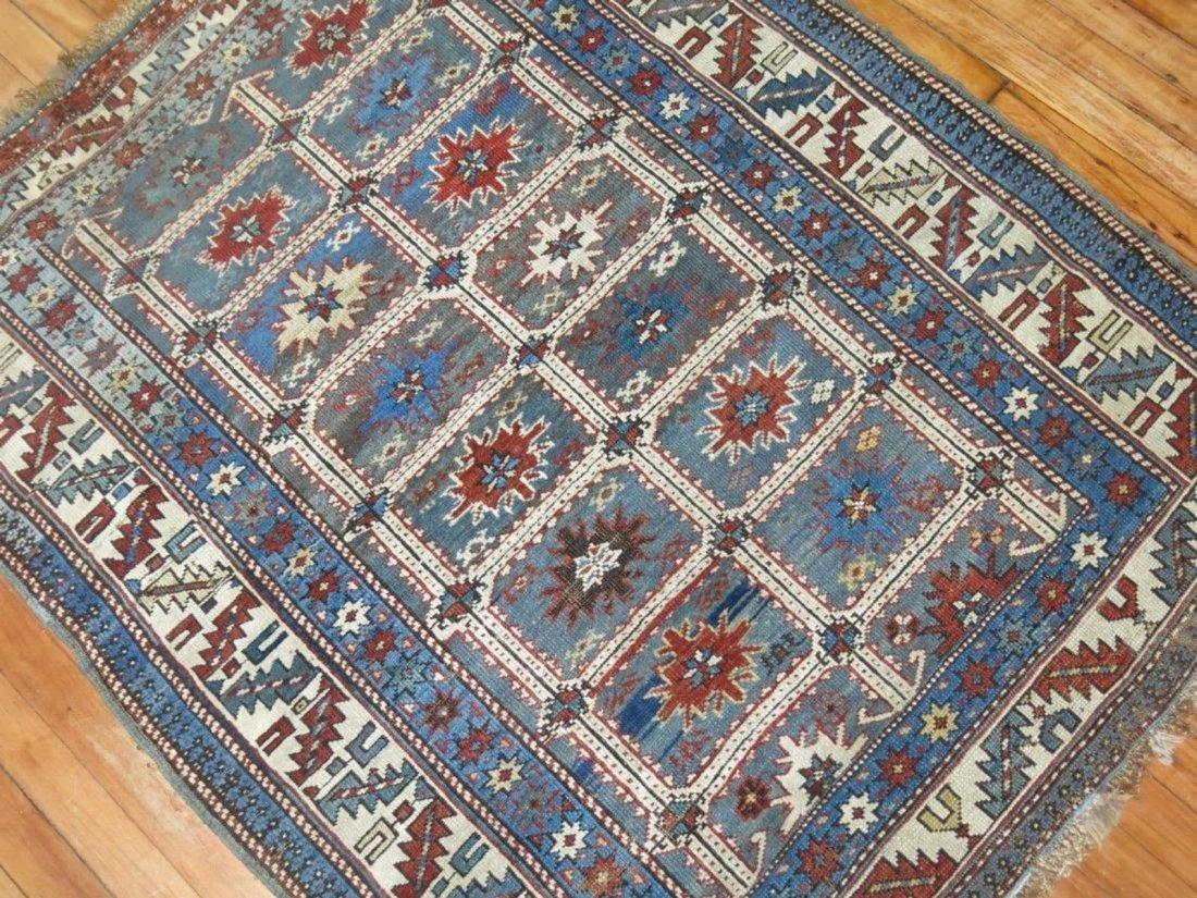 Antique Caucasian Shirvan Karagashli Rug 3.8x4.7 - 2