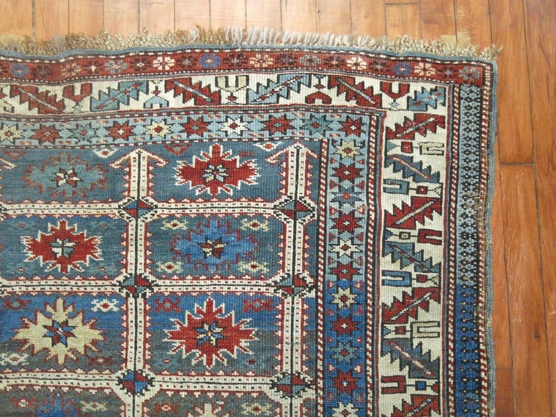 Antique Caucasian Shirvan Karagashli Rug 3.8x4.7 - 3