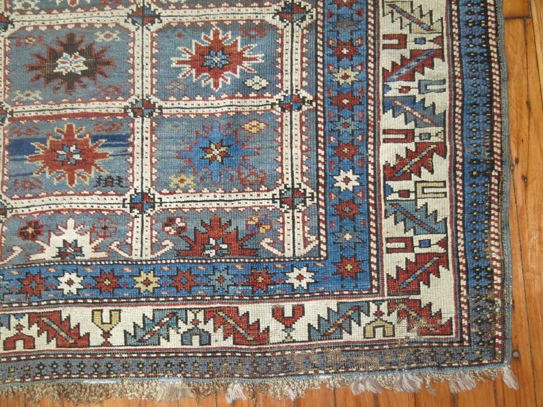 Antique Caucasian Shirvan Karagashli Rug 3.8x4.7 - 4