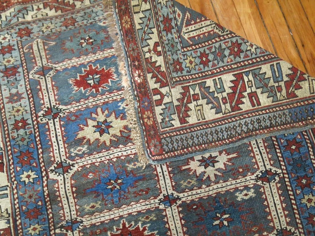 Antique Caucasian Shirvan Karagashli Rug 3.8x4.7 - 5