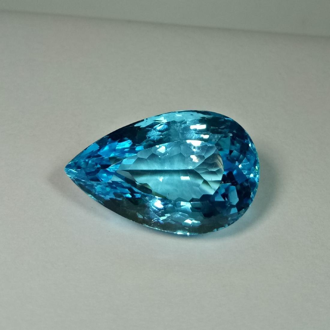 Swiss Blue Topaz - 31.60 Carat Loose