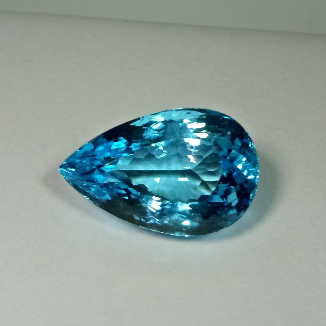 Swiss Blue Topaz - 31.60 Carat Loose - 2