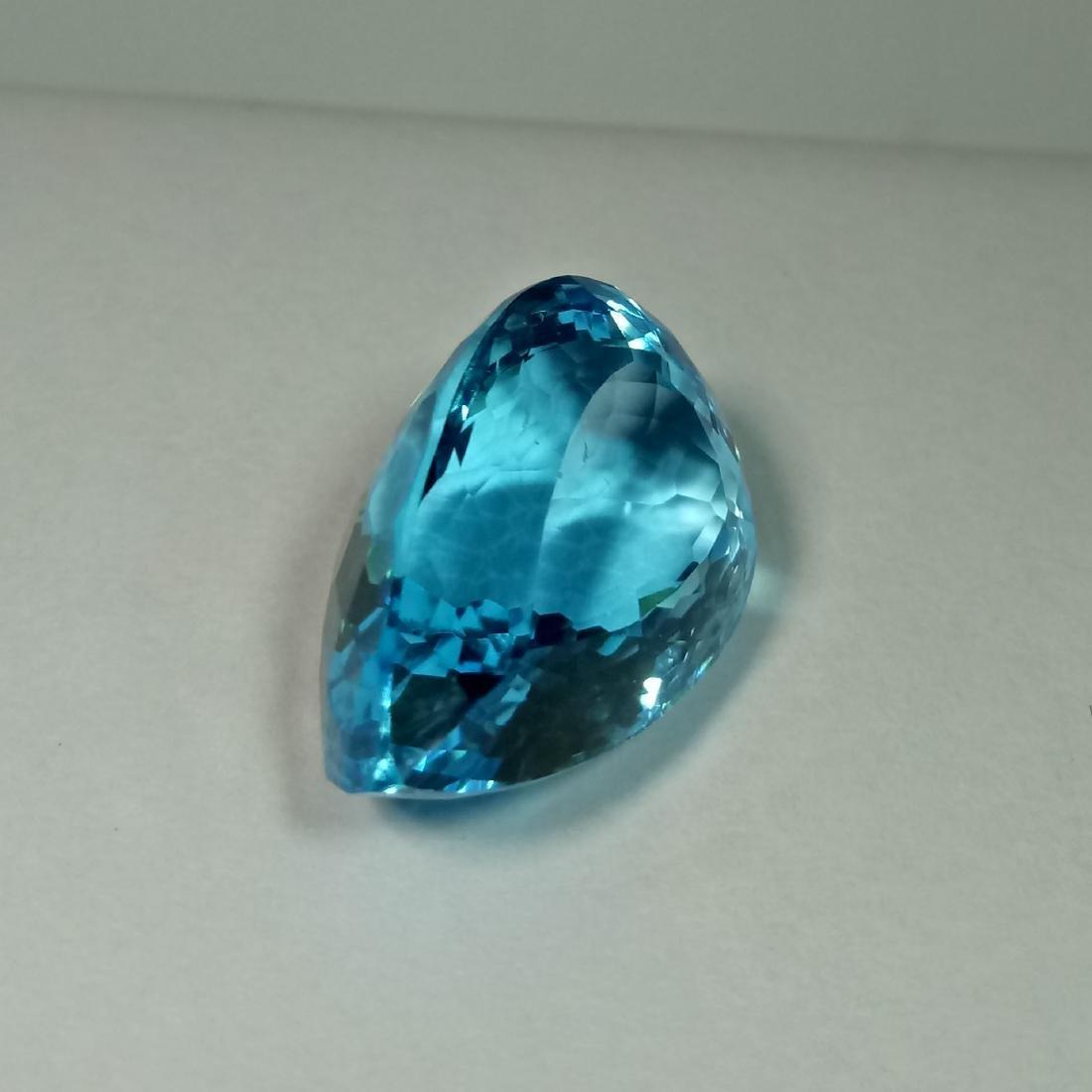 Swiss Blue Topaz - 31.60 Carat Loose - 3