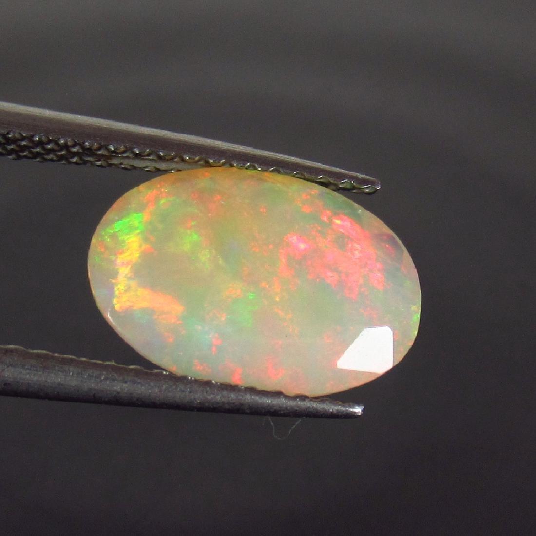 1.65 Carat Natural Loose Faceted Welo Opal