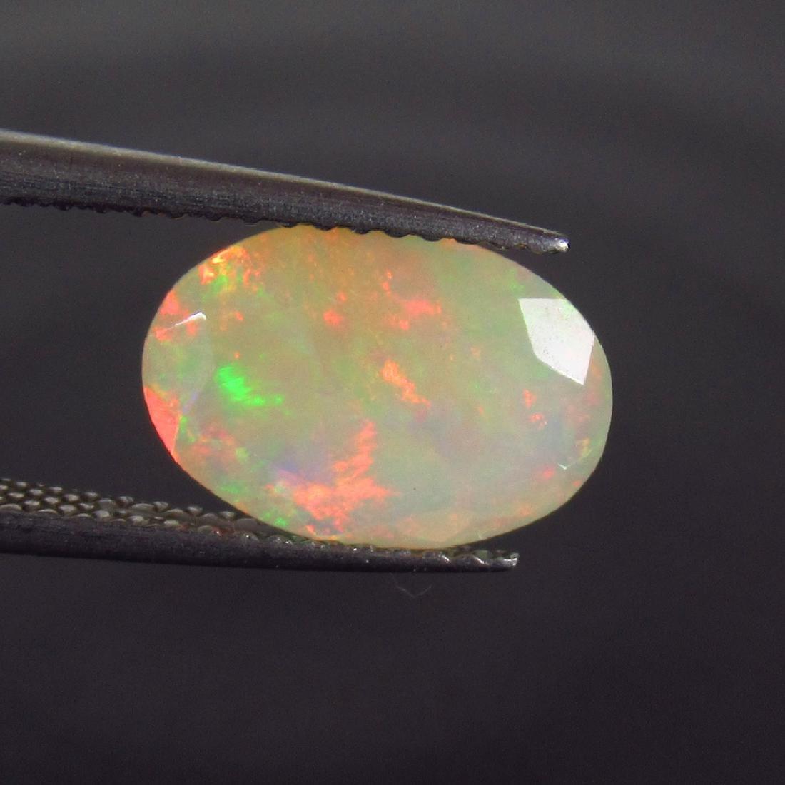 1.65 Carat Natural Loose Faceted Welo Opal - 2
