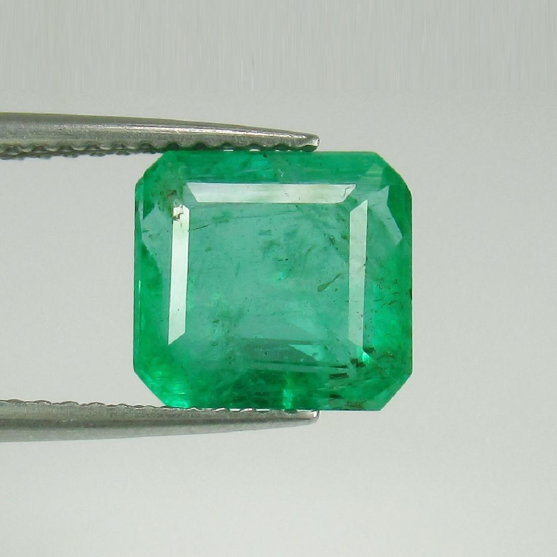 3.24 Carat Natural Loose Emerald Octagon