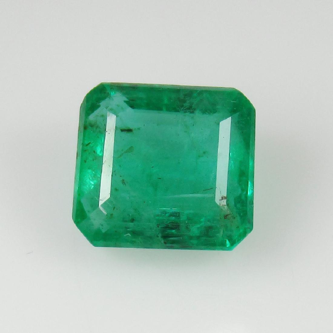 3.24 Carat Natural Loose Emerald Octagon - 2