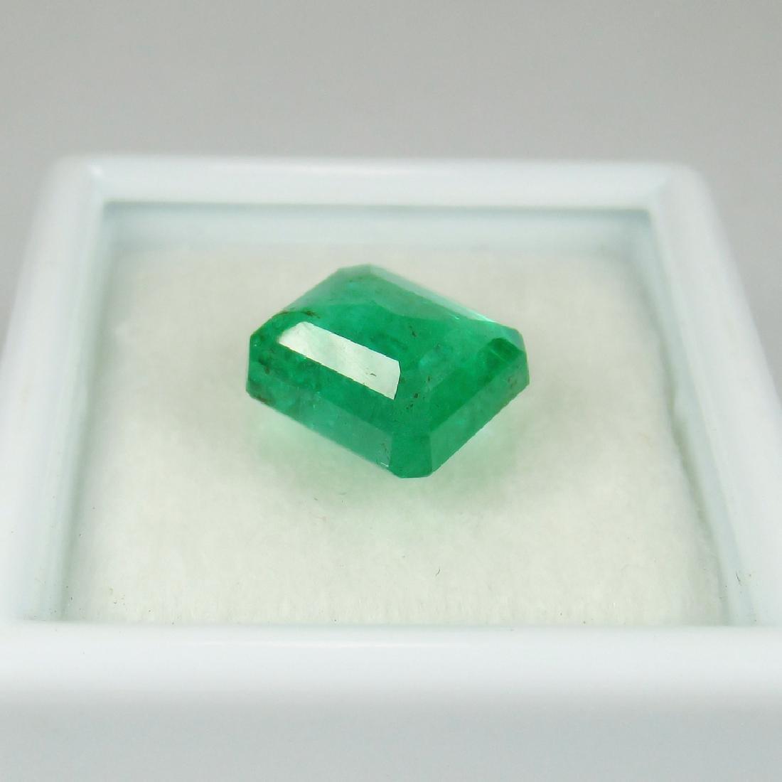 3.24 Carat Natural Loose Emerald Octagon - 4