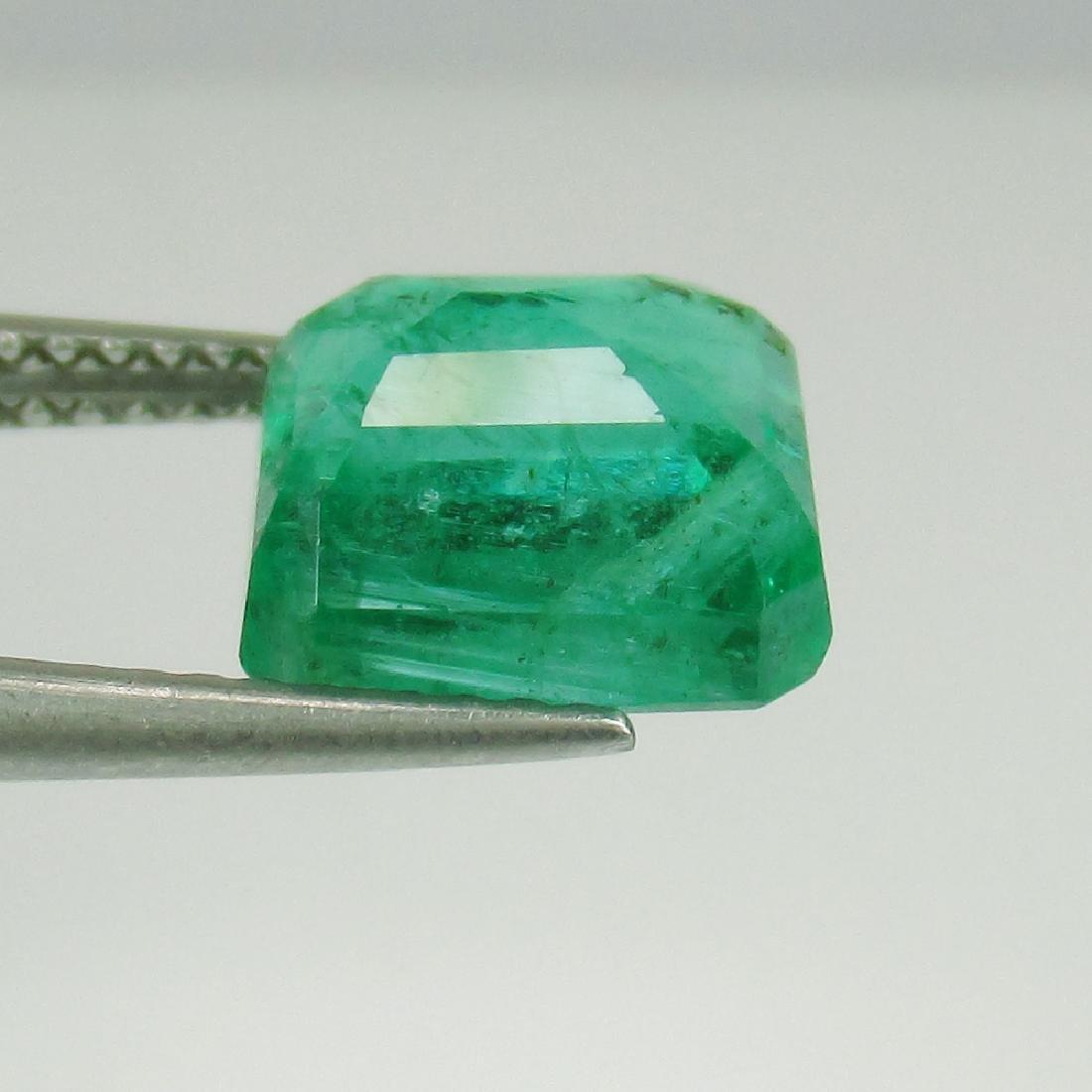 3.24 Carat Natural Loose Emerald Octagon - 5