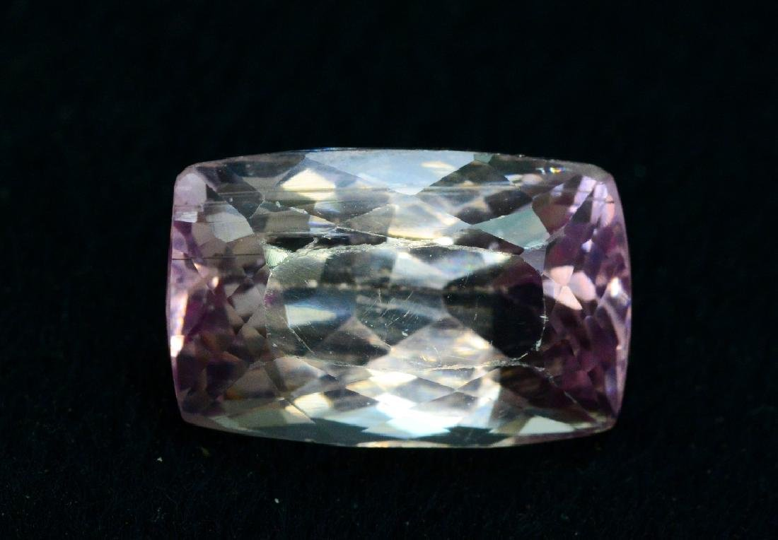16.40 Carat Pink Color Natural Loose Kunzite Gemstone