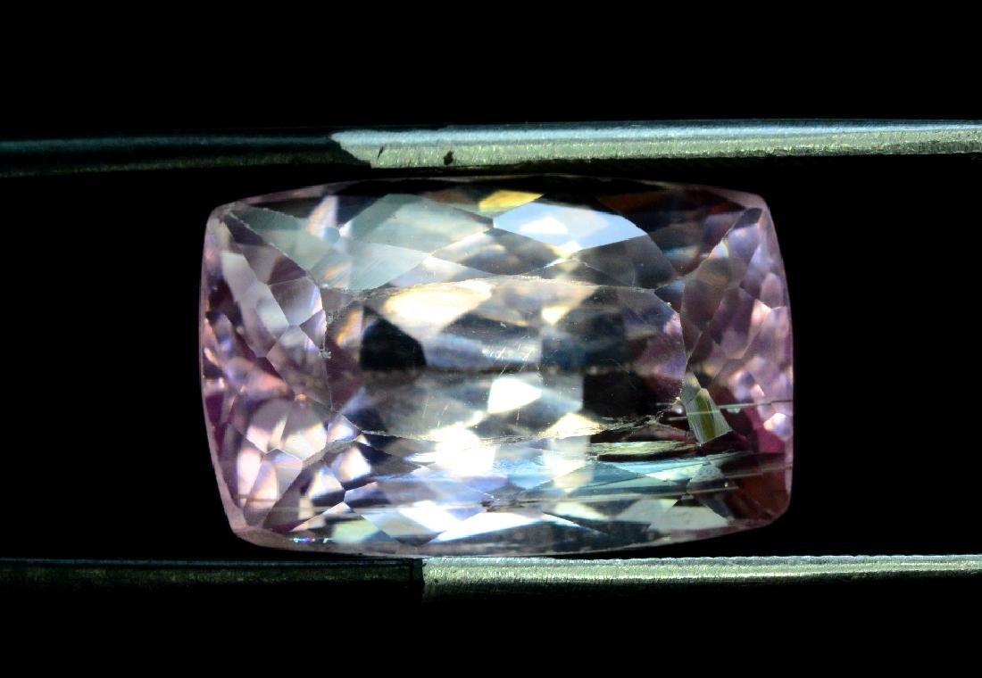 16.40 Carat Pink Color Natural Loose Kunzite Gemstone - 2