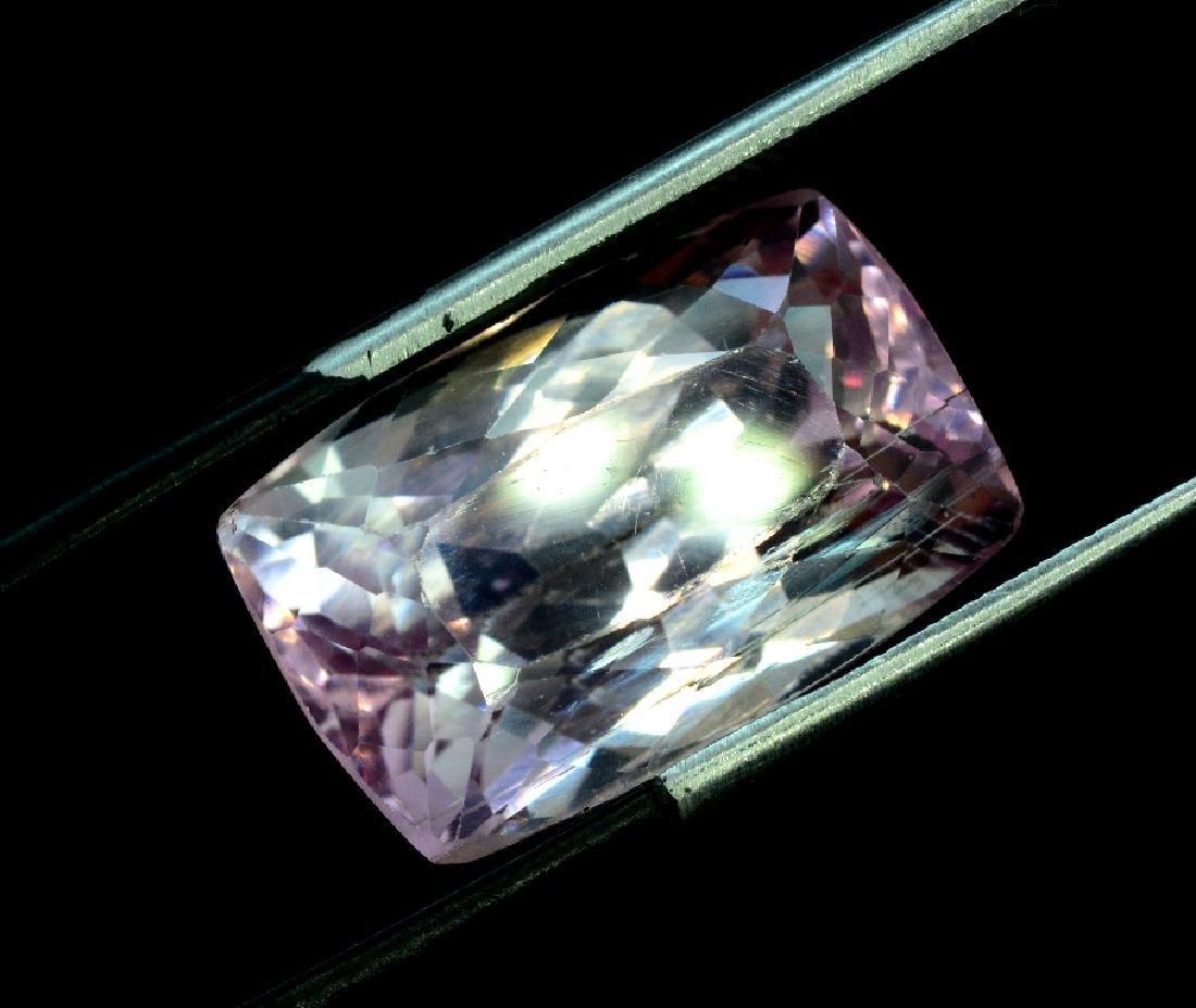 16.40 Carat Pink Color Natural Loose Kunzite Gemstone - 4