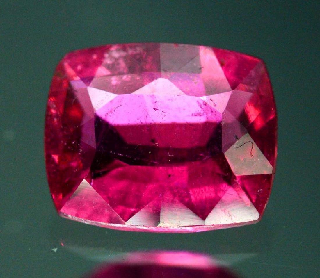 1.90 Carat Untreated Rubelite Gemstone