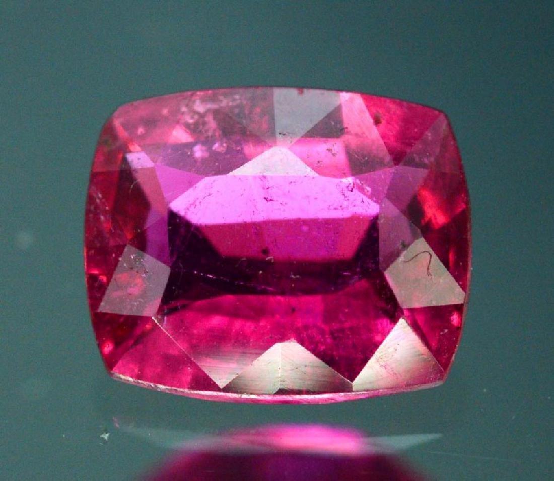 1.90 Carat Untreated Rubelite Gemstone - 2