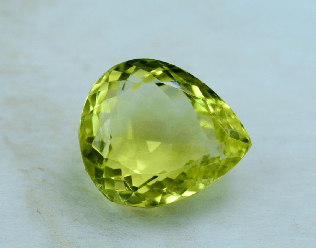 20.45 Carat Natural Lemon Quartz Loose Gemstone