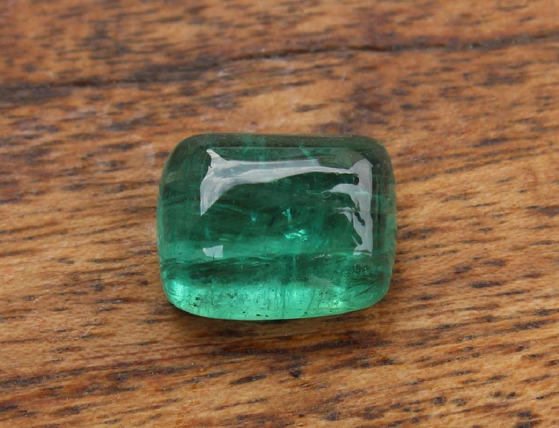 5.15 Carat Loose IGI Certified Emerald - 4