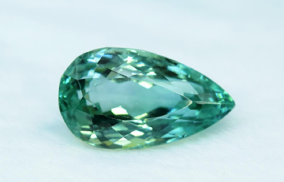 Flawless Lush Green Kunzite Loose Gemstone
