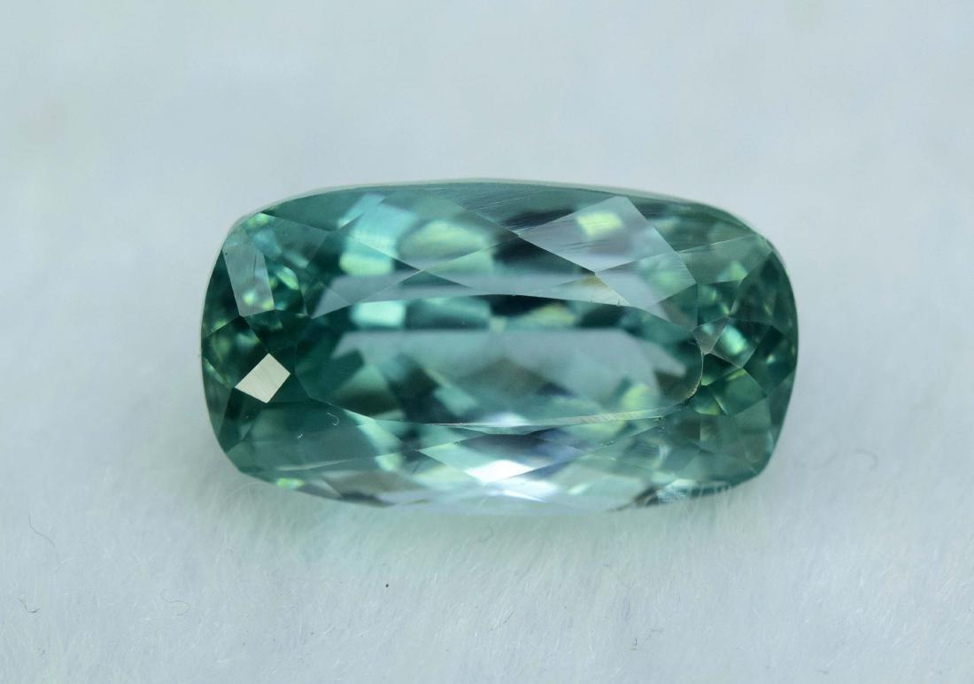 Flawless Lush Green Kunzite Loose Gemstone - 2