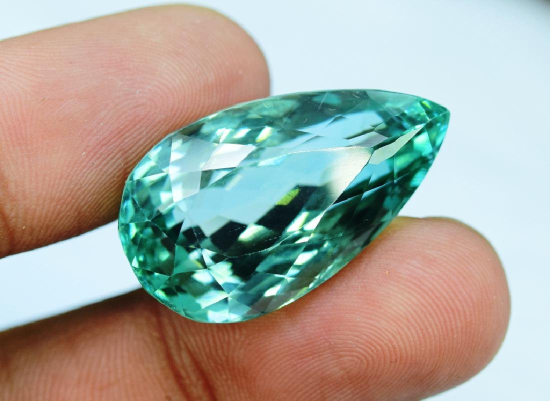 Flawless Lush Green Kunzite Loose Gemstone - 3