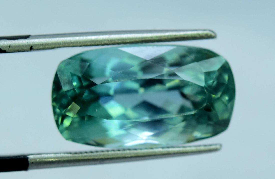 Flawless Lush Green Kunzite Loose Gemstone - 4