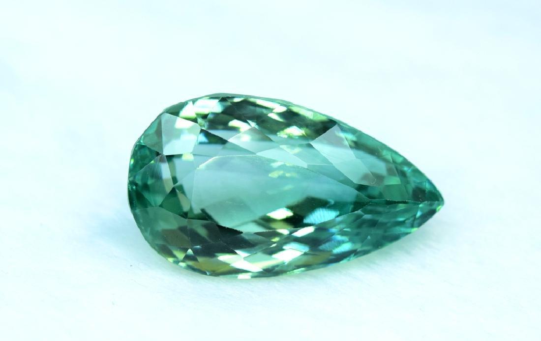 Flawless Lush Green Kunzite Loose Gemstone - 5