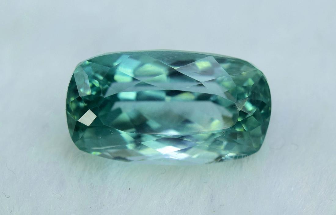 Flawless Lush Green Kunzite Loose Gemstone - 6