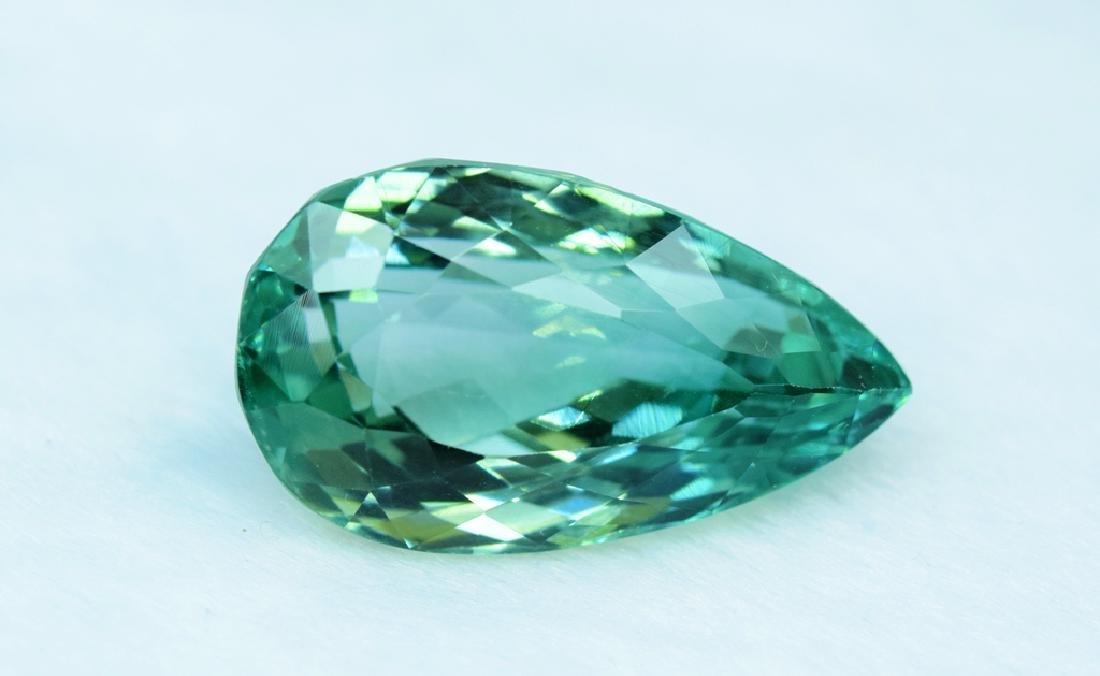 Flawless Lush Green Kunzite Loose Gemstone - 7
