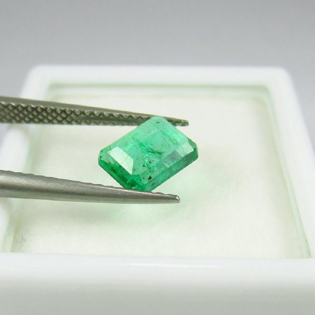 1.15 Carat Loose Octagon Emerald - 2