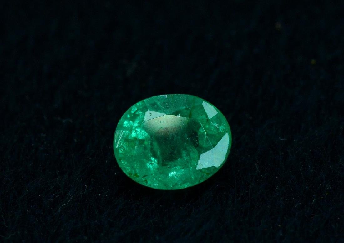 1.30 Carat Natural Loose Emerald - 2