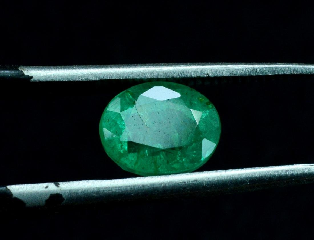 1.30 Carat Natural Loose Emerald - 5