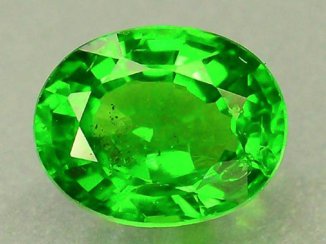 0.80 ct Natural Green Tsavorite Garnet