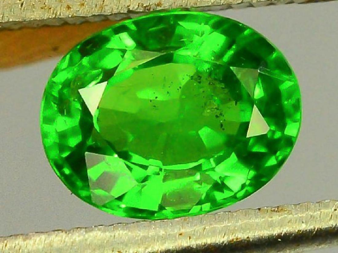 0.80 ct Natural Green Tsavorite Garnet - 2