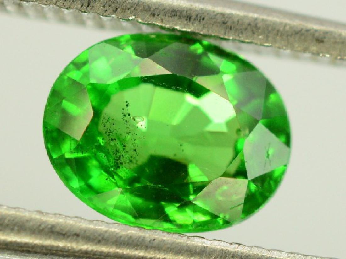 0.80 ct Natural Green Tsavorite Garnet - 3