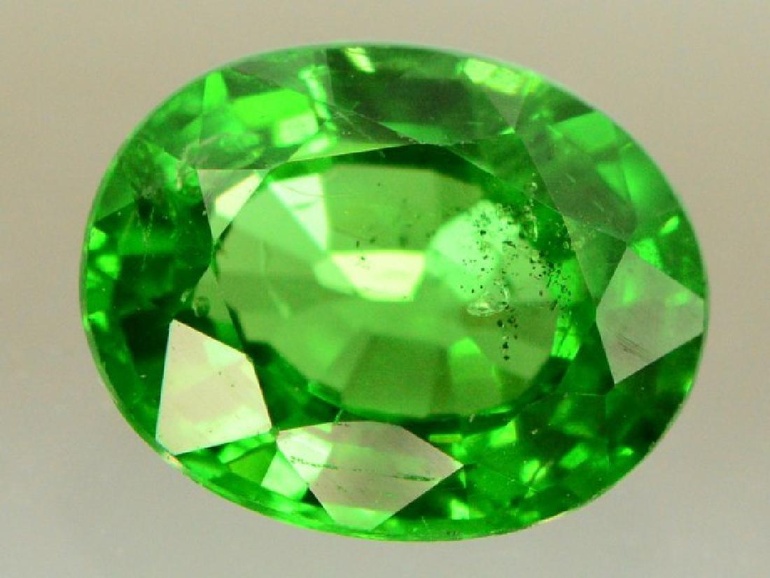 0.80 ct Natural Green Tsavorite Garnet - 4